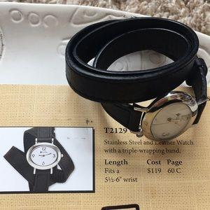 Triple wrap watch